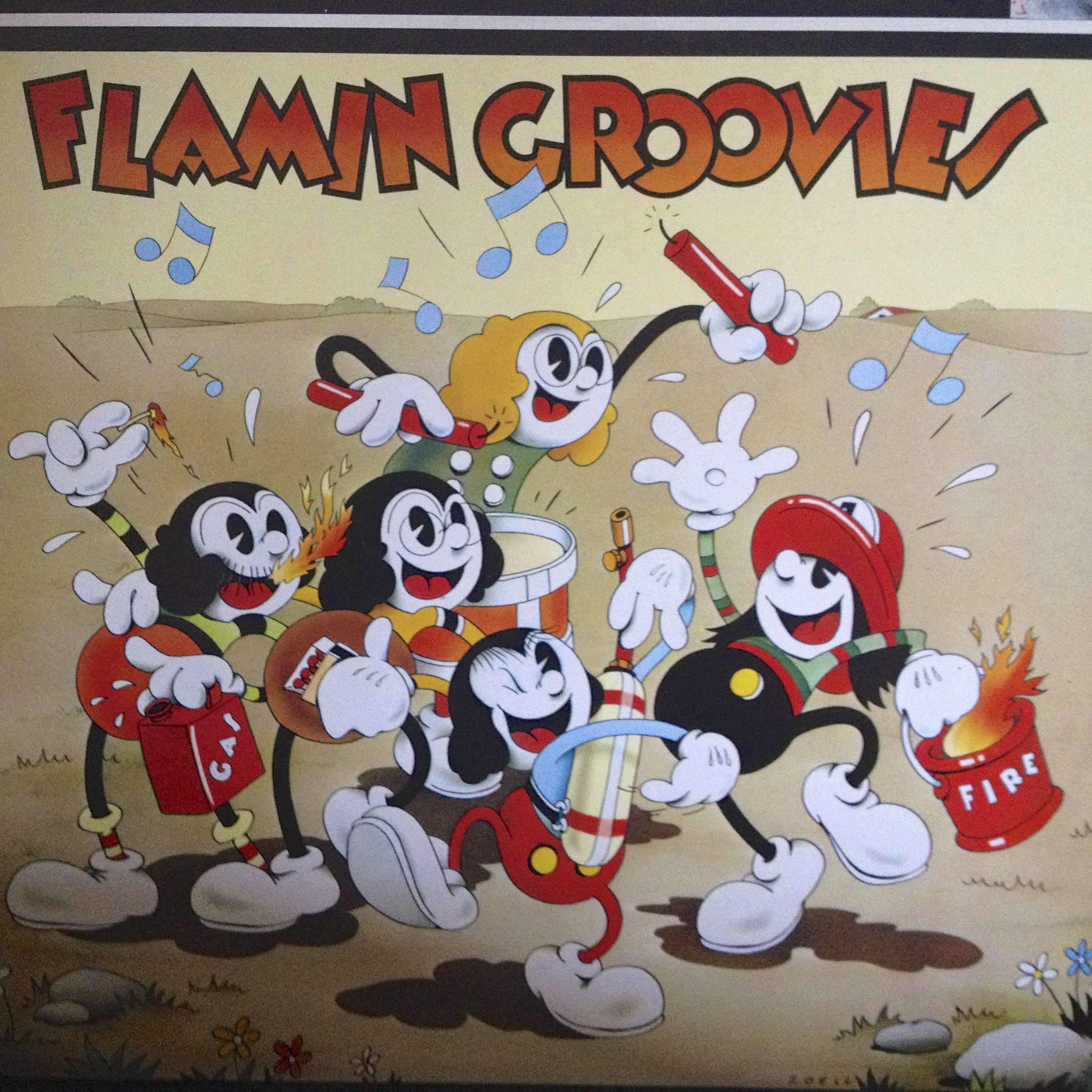 Somethin' Else / Flamin Groovies en écoute !