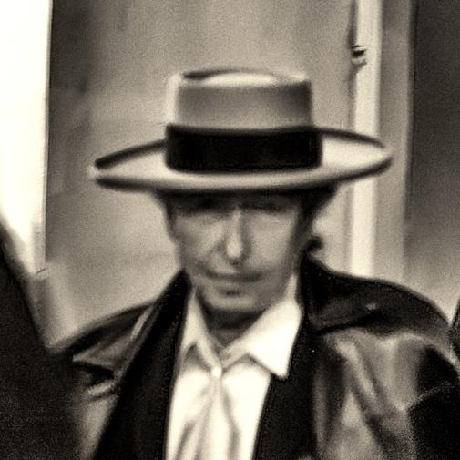 Bob Dylan, Paris, 14/11/2013.