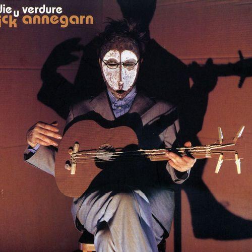 Pochette de l'album adieu verdure de Dick Annegarn.