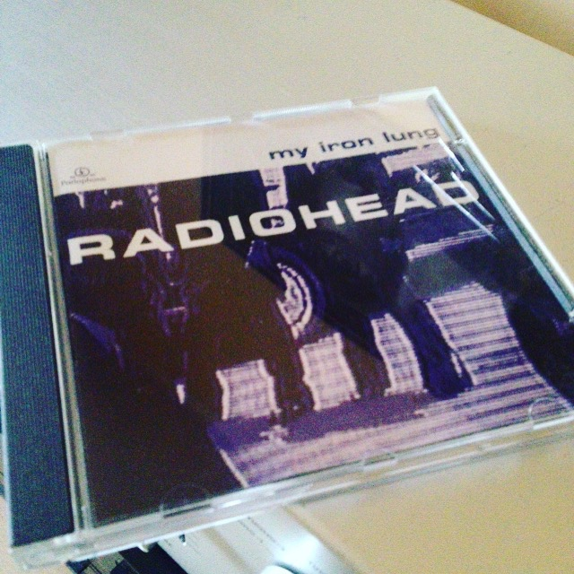 Radiohead, le CD my iron lung