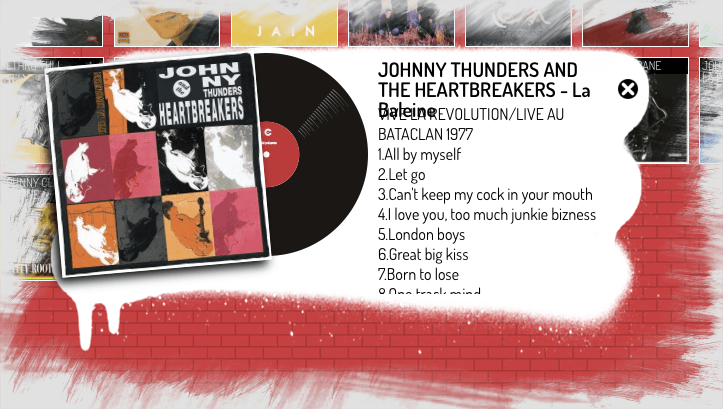 Johnny Thunders, Live At The Bataclan