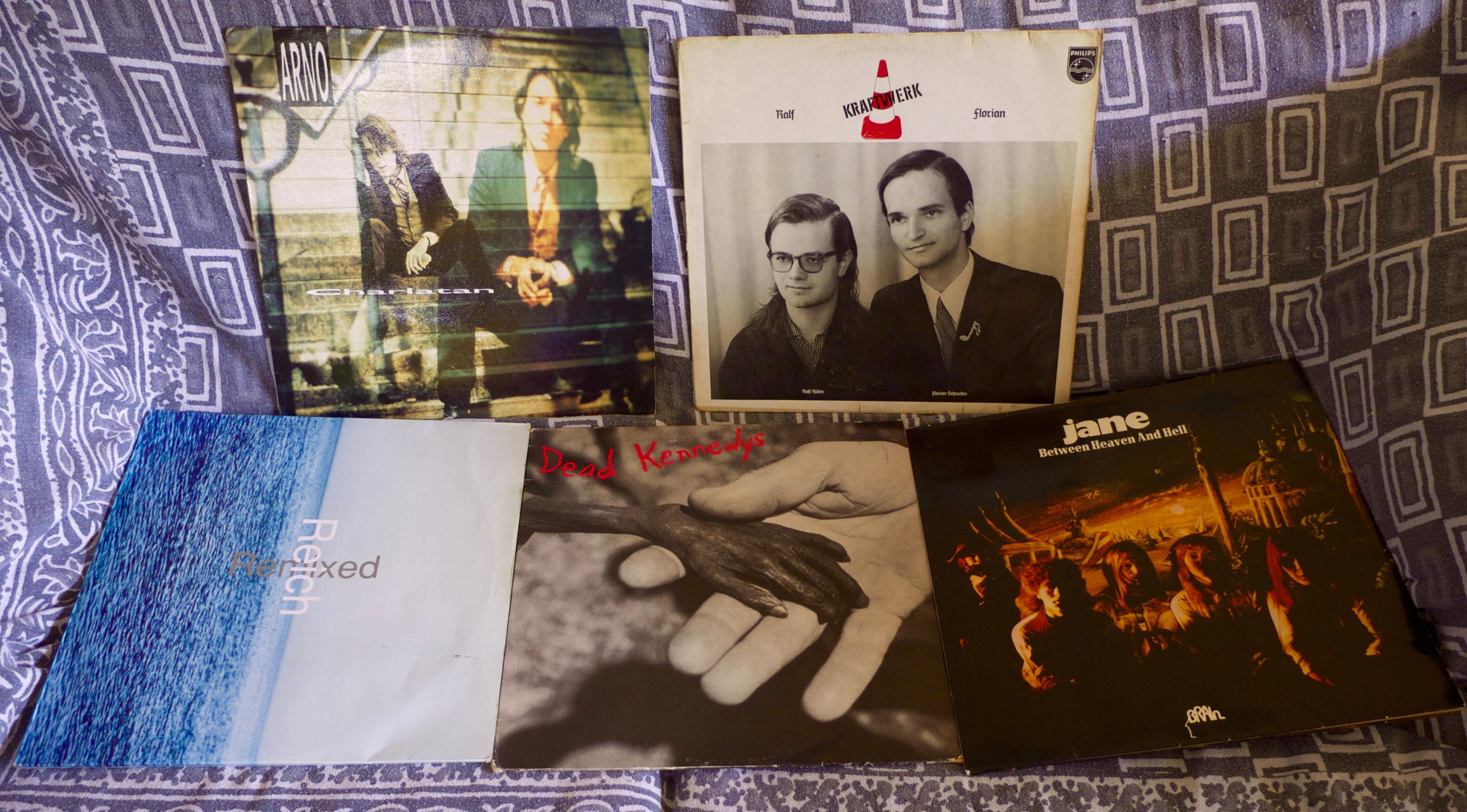 Récolte vinyles 4 juin 2016