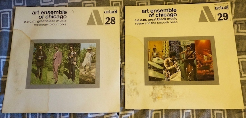 art ensemble of chicago - actuel 28 - 29