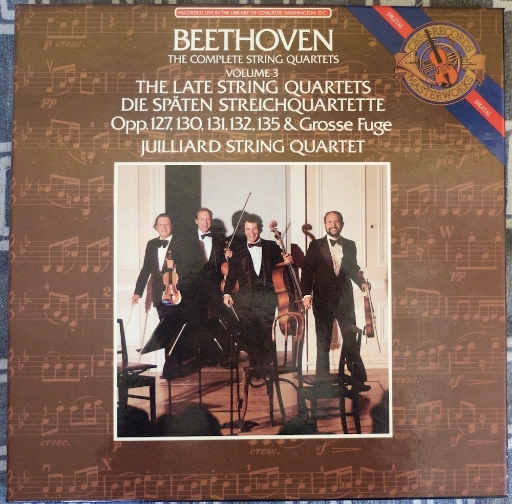 Juilliard String Quartet — Beethoven