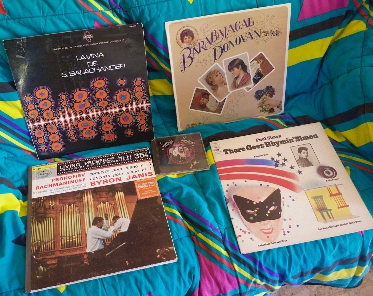 Musique des Indes, du Folk, un Classique et Paul Simon