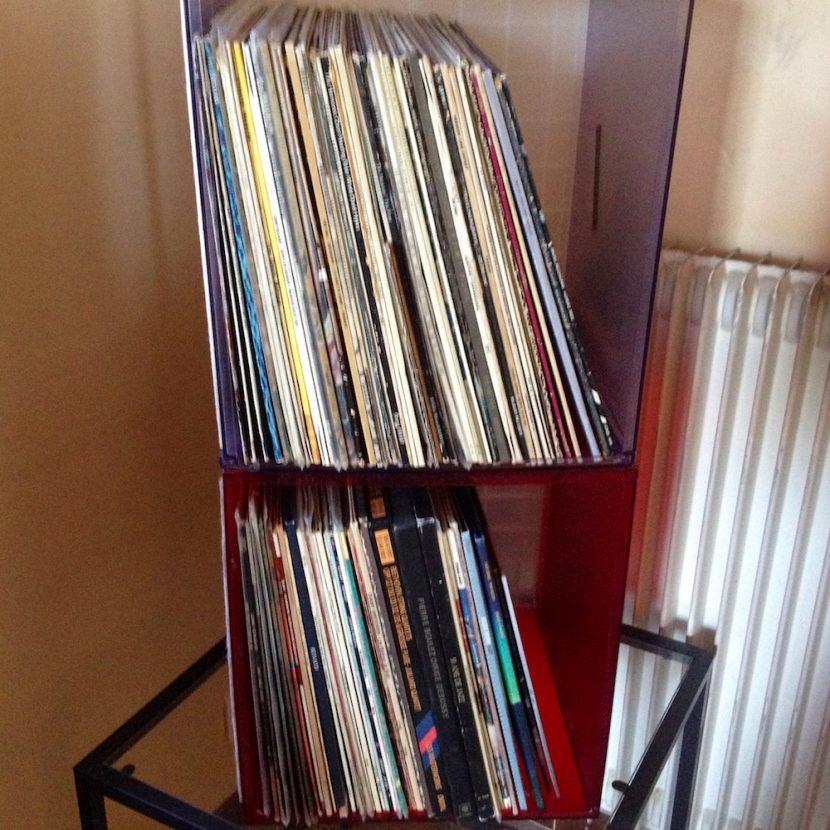 les vinyles à classer