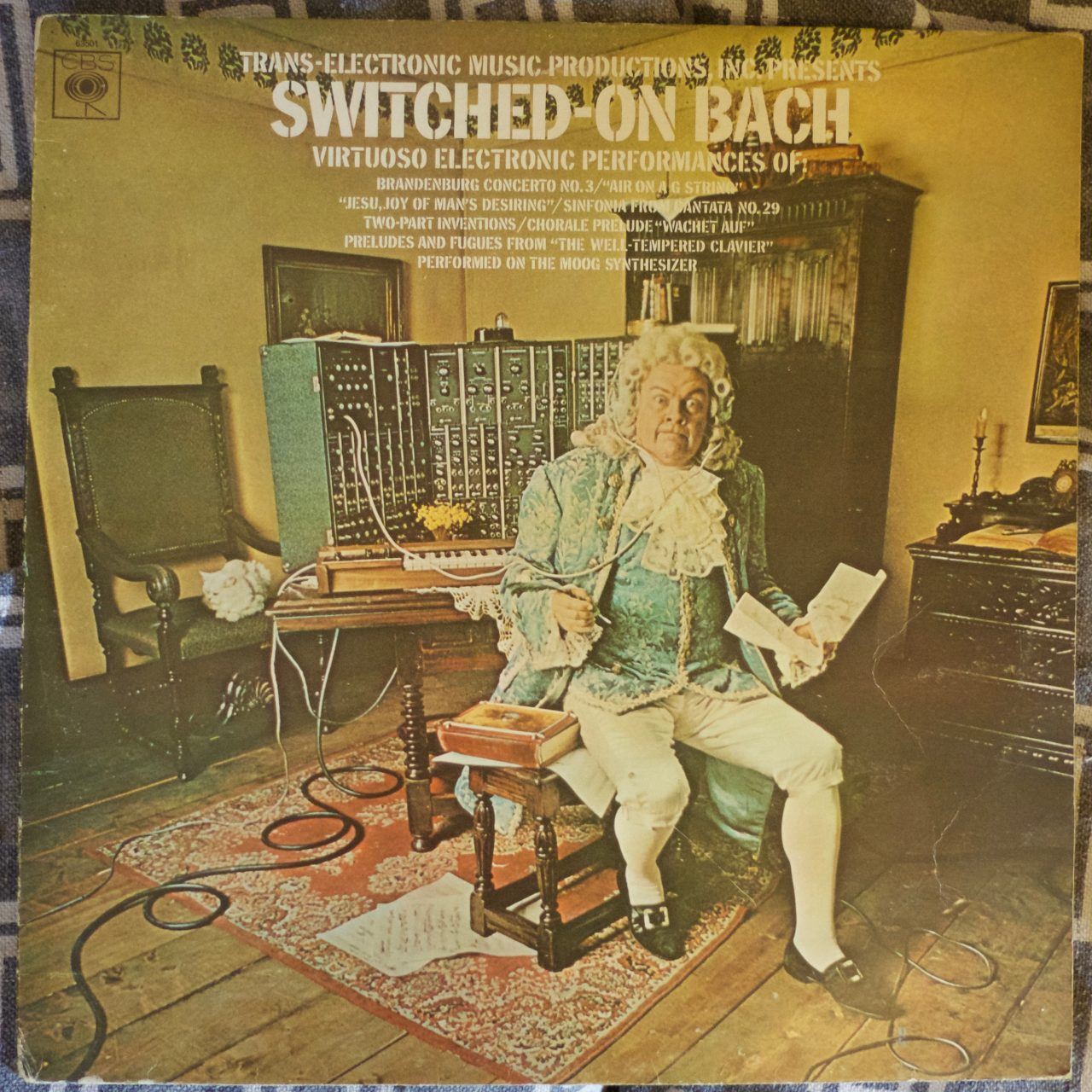 Pochette de l'album de Walter Carlos / Switched-on Bach