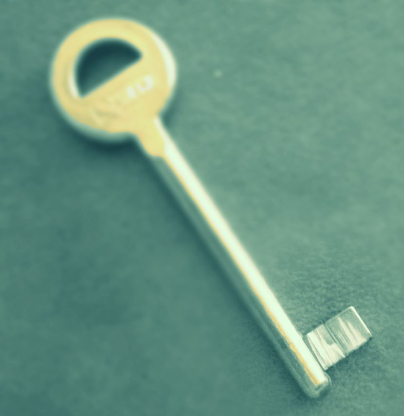 Une clef !