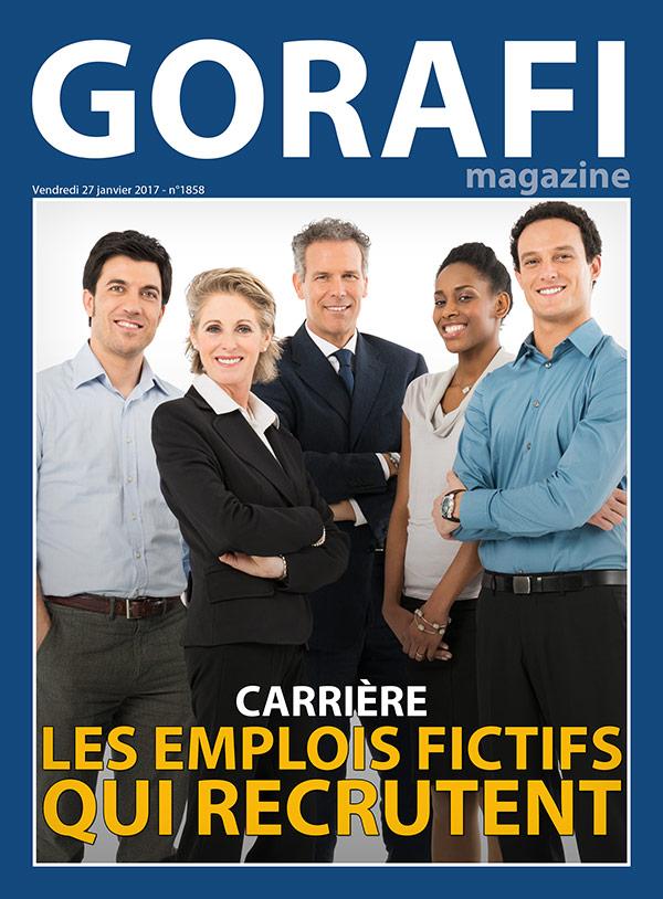 La couverture de Gorafi magasine !
