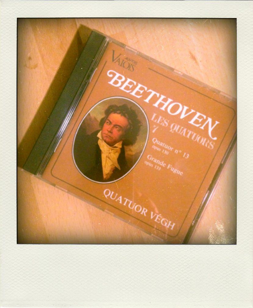 Grande Fugue, Beethoven, Quatuor Végh.