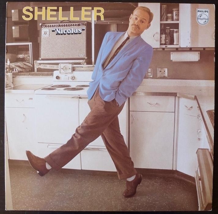 Pochette de l'album de Sheller «Nicolas»