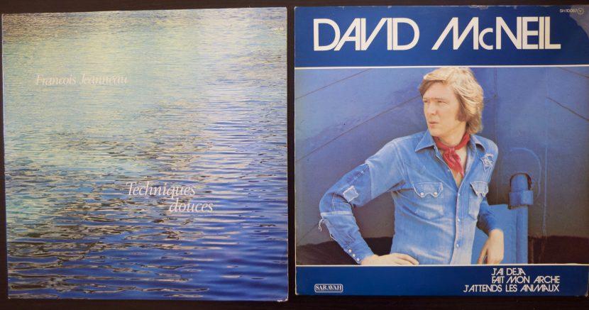 Albums David McNeil et album François Jeanneau !