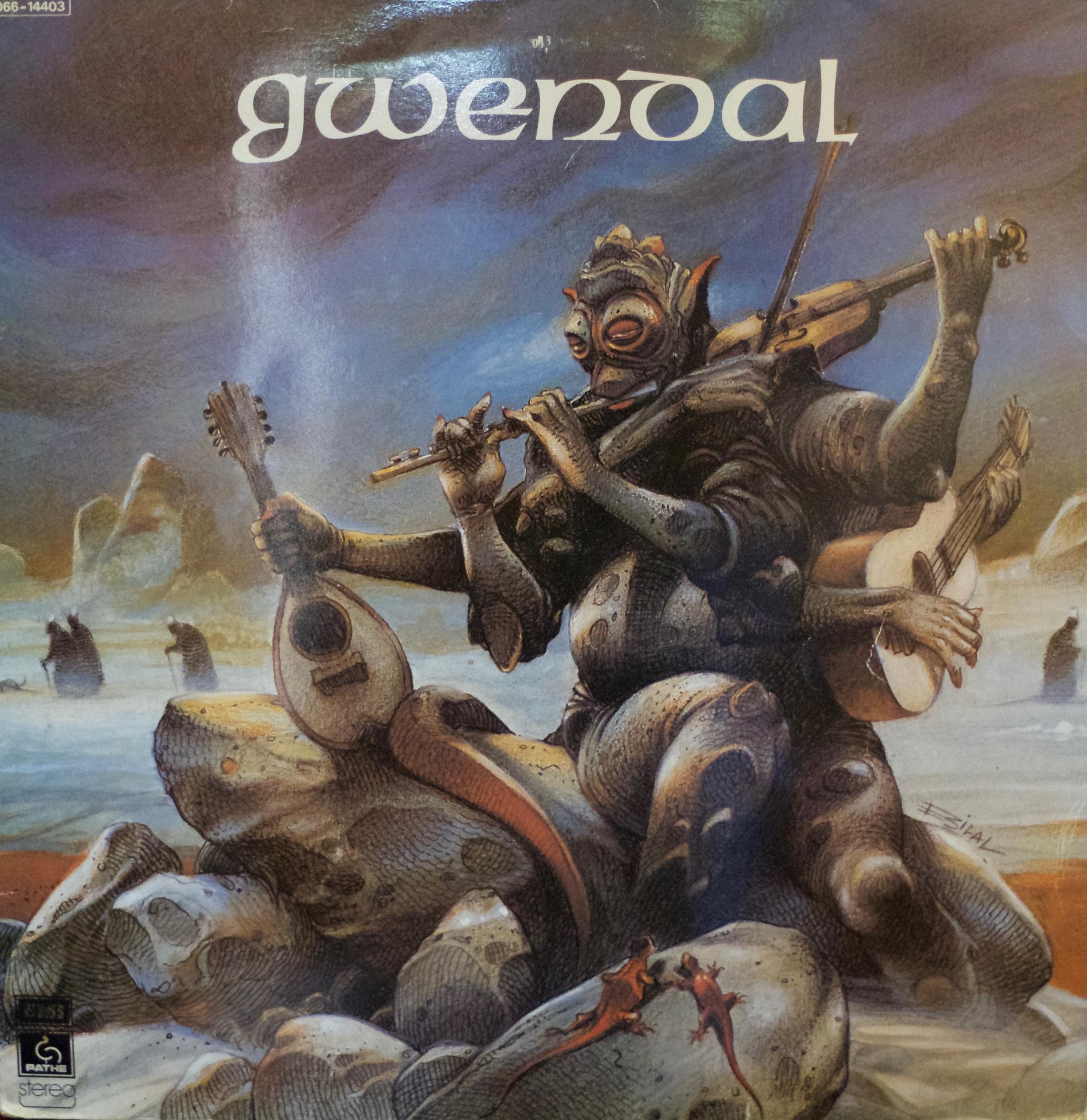 Pochette album de Gwendal, dessinée par Bilal.