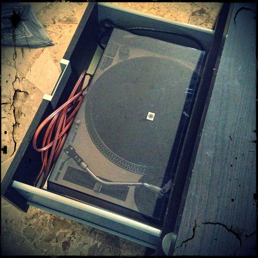 platine vinyle de secours