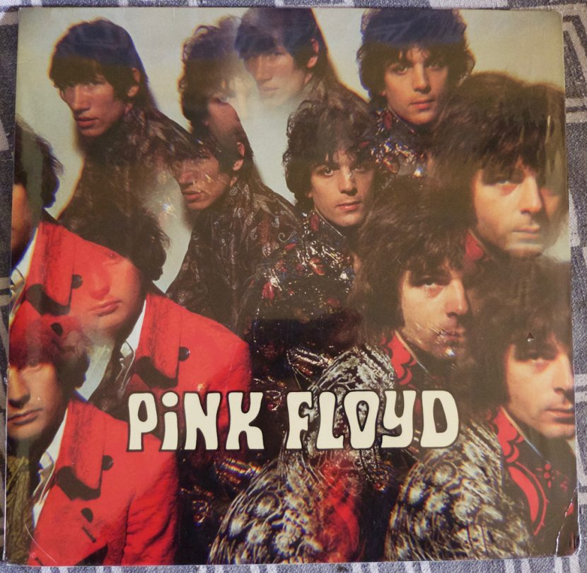La pochette de l'album (vinyle) de Pink Floyd, The Piper At The Gates Of Dawn.
