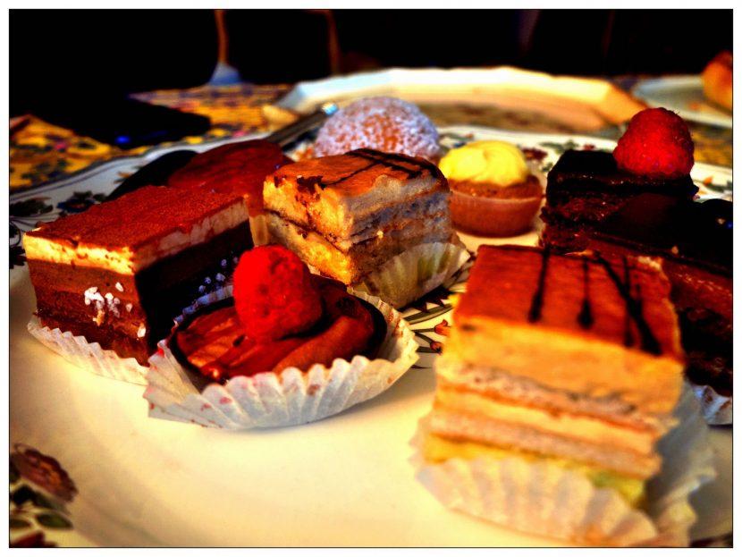 Une assiette de gâteaux !