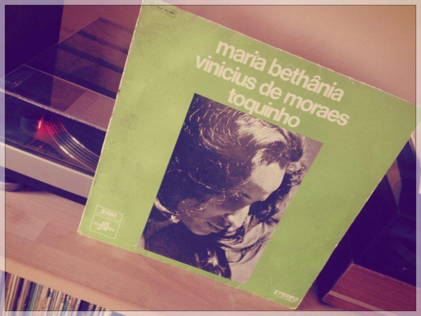 Pochette de l'album de maria Bethânia !