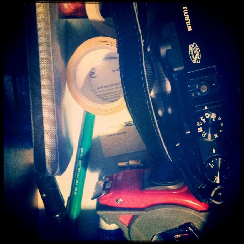 Le fouillis de mon tiroir !