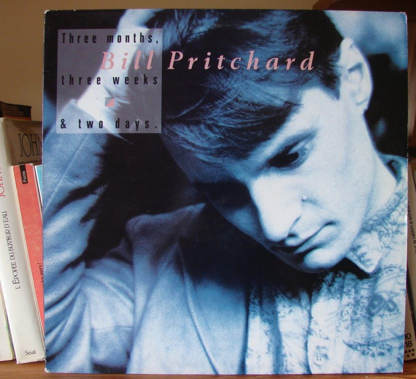 Pochette album Bill Pritchard !