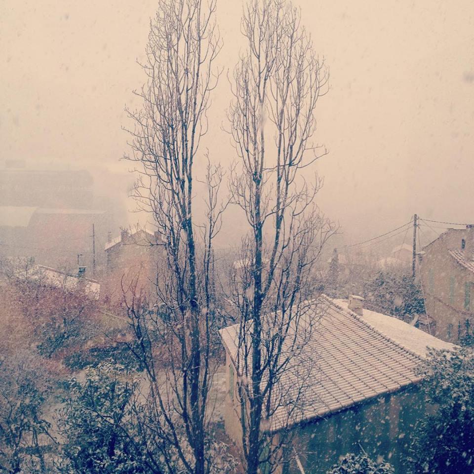 [Image du Jour] Neige à Marseille !