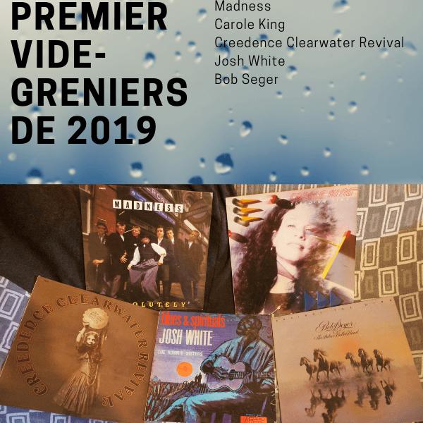 Les premiers vinyles de 2019