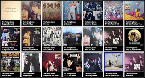 Mes albums des Rolling Stones