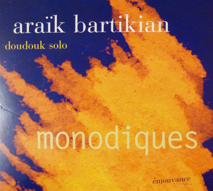 monodiques – araïk bartikian