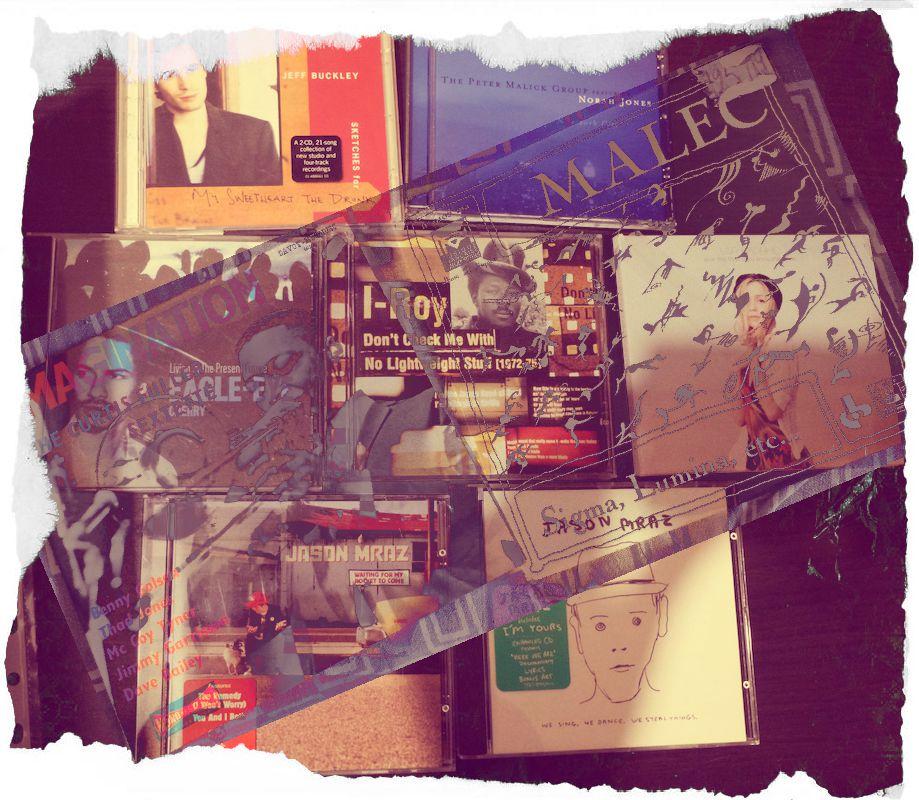 Vinyles échange et quelques CD