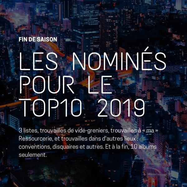 Les nominés au TOP10 2019
