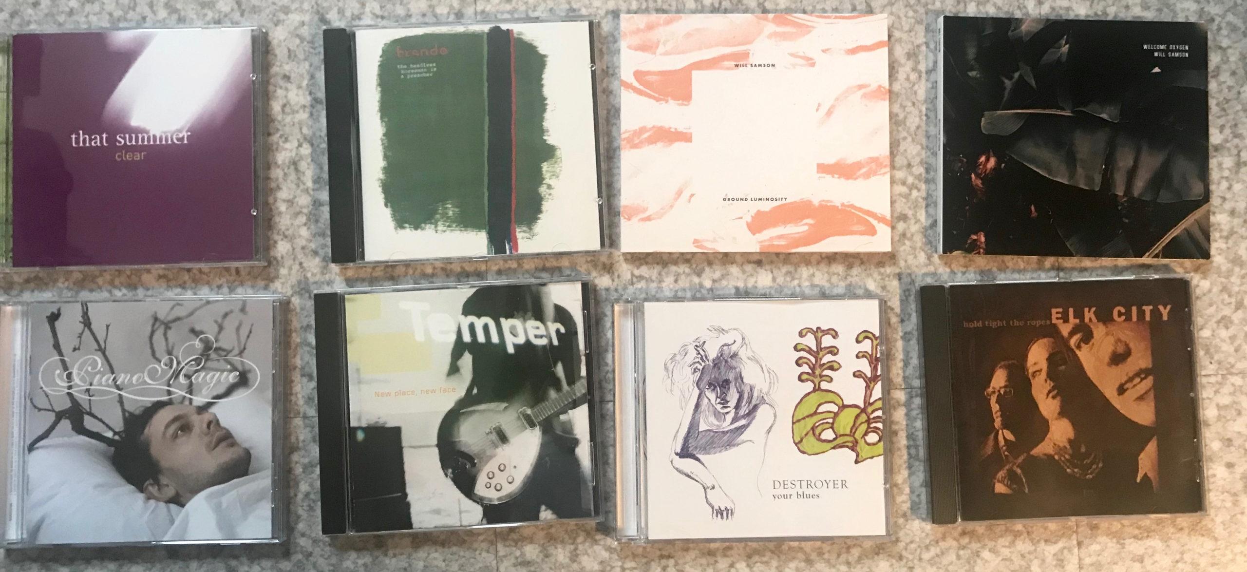 Des CD, encore des CD