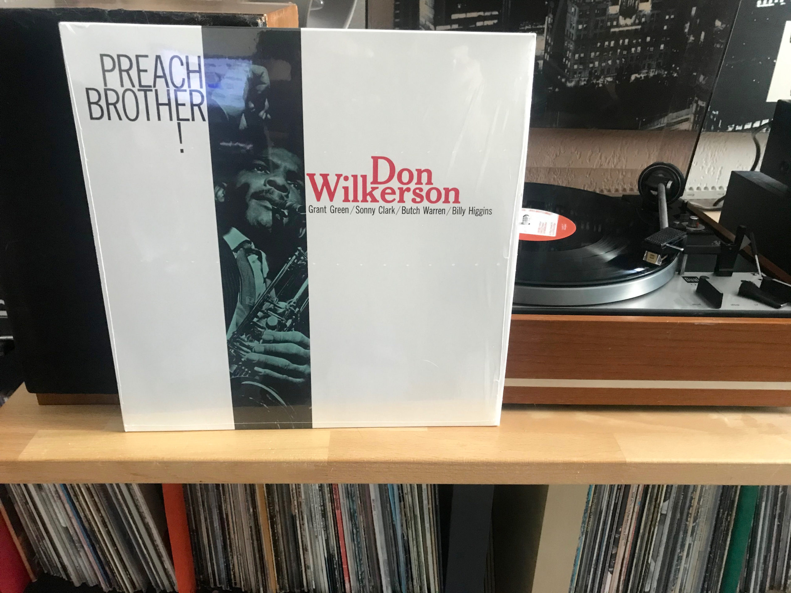 [Sur la platine] Don Wilkerson.