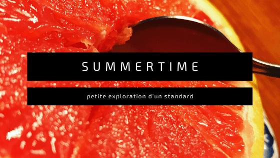 Variations autour de Summertime