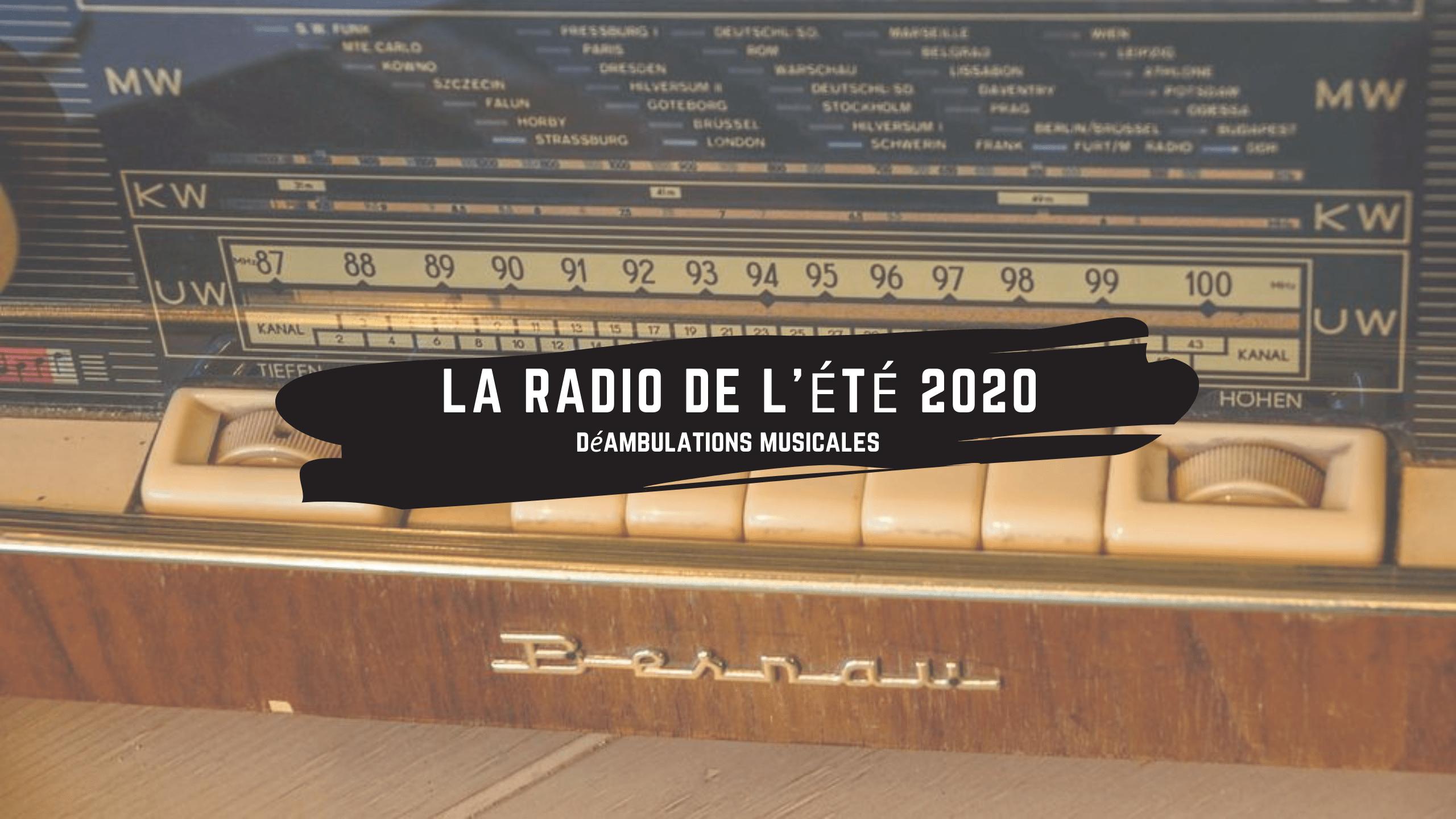 [Sur le Mixcloud de Olivier Boutsi] La Radio de l'été 2020 de Sardequin