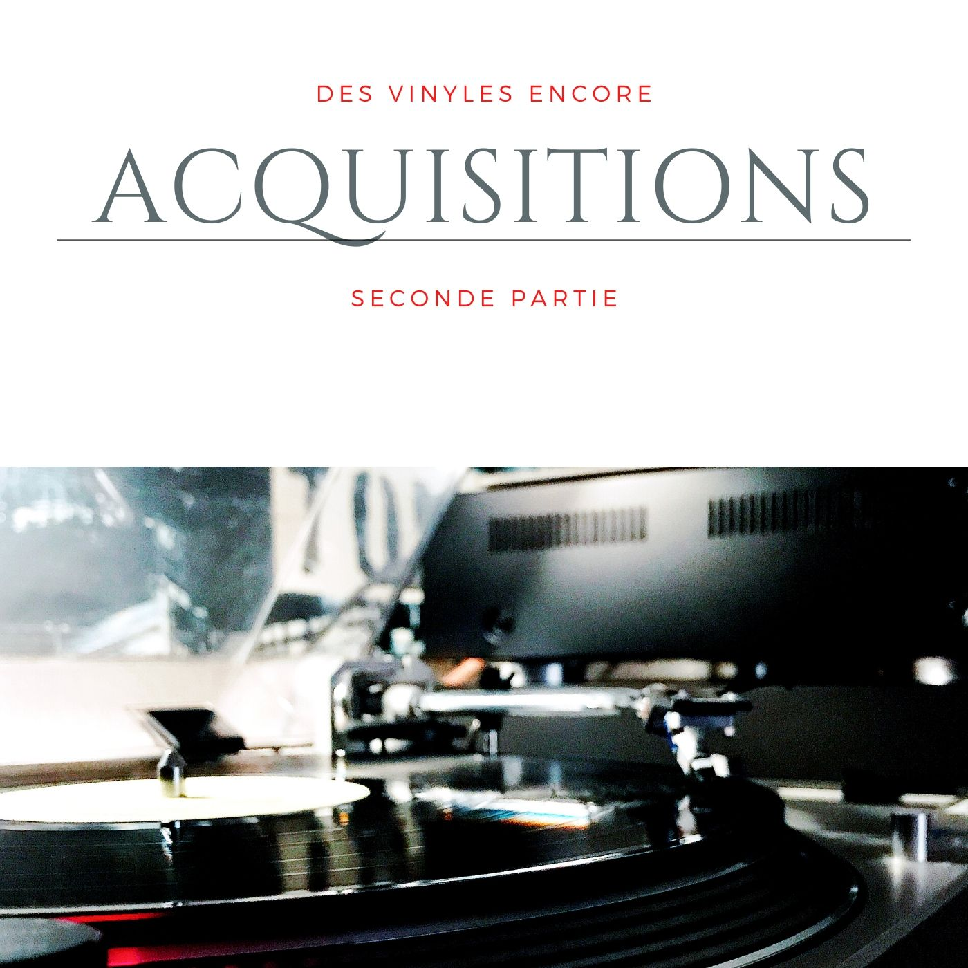 Vlog Notes acquisitions Vinyles, seconde partie !