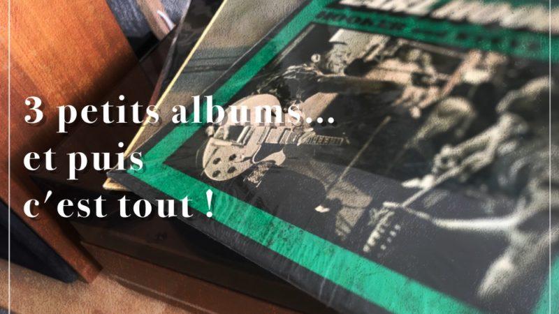 [Vlog Notes] Trois petits albums et puis…