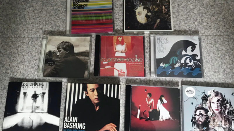 Une récolte éclectique de CD !