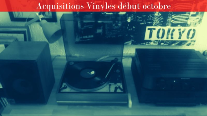 [Vlog Notes] Acquisitions Vinyles début Octobre 2020