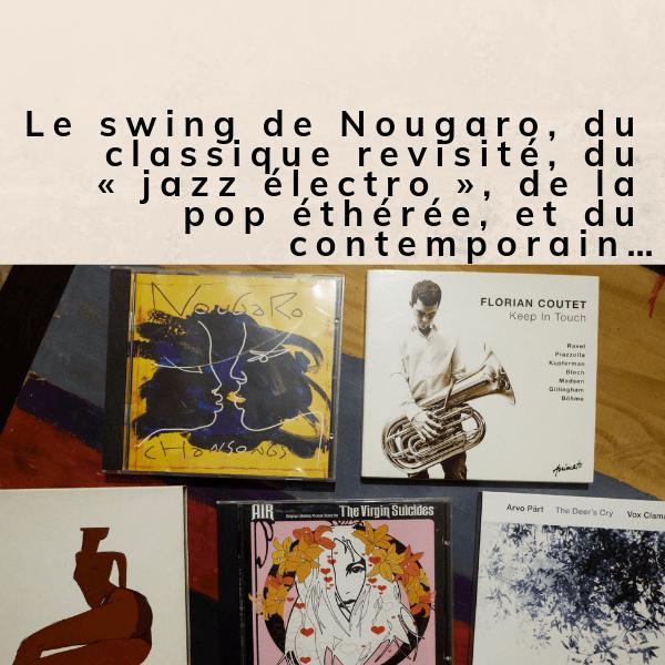 Des CD, sinon, rien !
