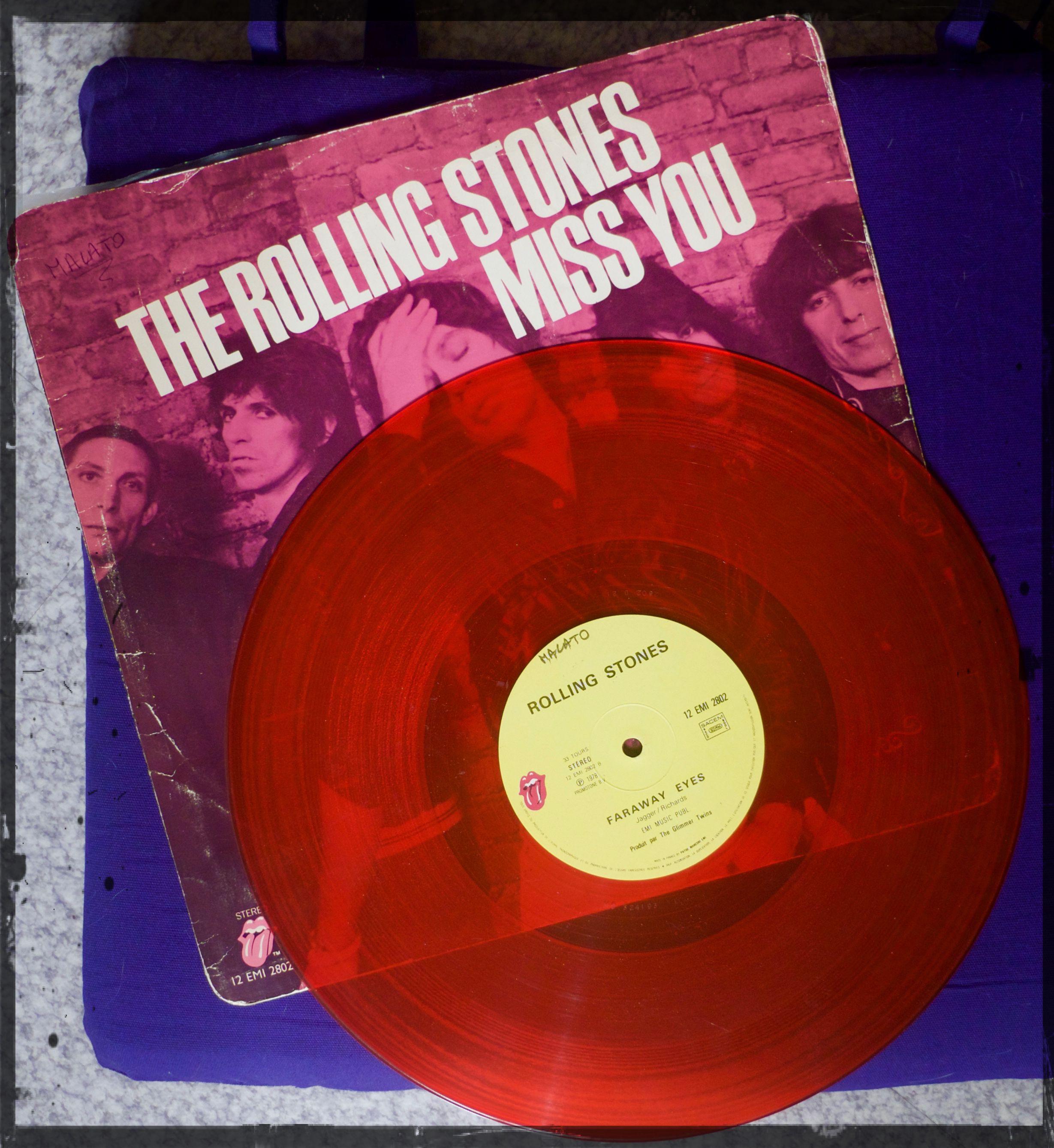 [Un jour, une photo – saison 2] Red Rolling Stones