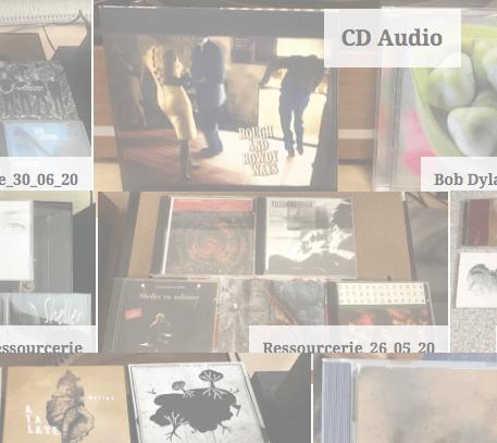 Galerie des achats de CD !