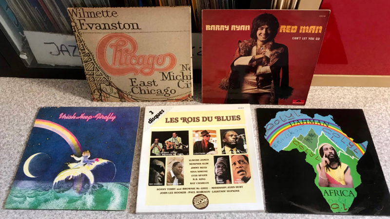 J'ai encore trouvé des disques !