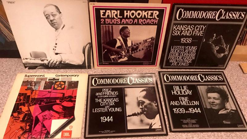 Albums de Jazz et de Blues à Emmaüs…