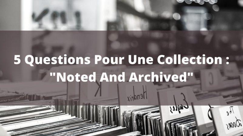Cinq nouvelles questions autour d'une collection de vinyles
