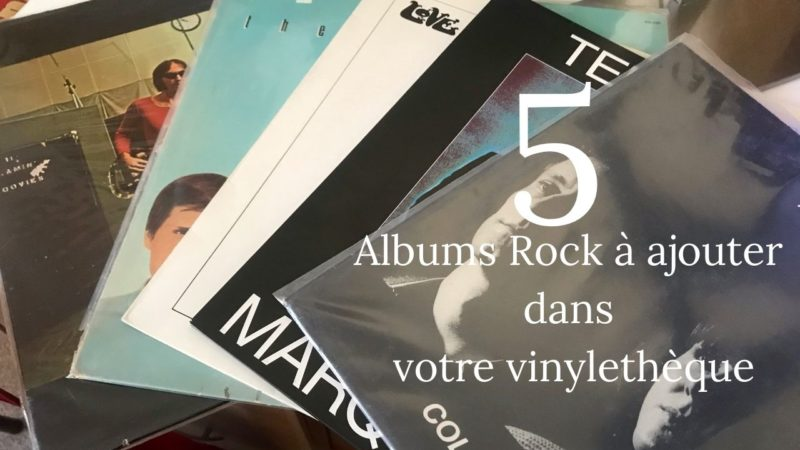[Vlog Notes] 5 albums Rock