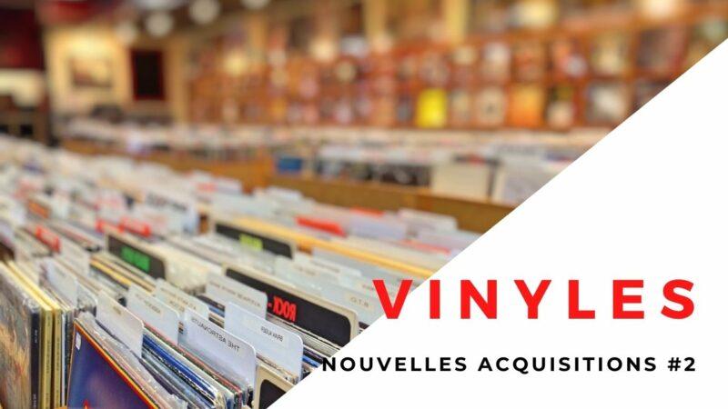 [Vlog Notes] Encore des acquisitions de vinyles.